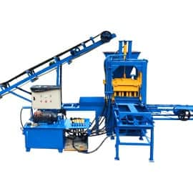 Cinder-Interlocking-Brick-Making-machine