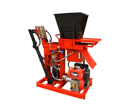 ECO-BRB-Stationary Block-Making-Machine