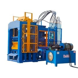 Hydraulic-Concrete-Block-Making-Machine