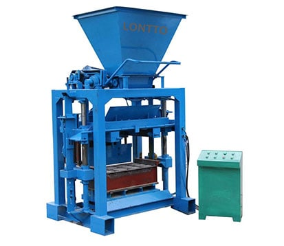 LMT4-35 cement brick making machine