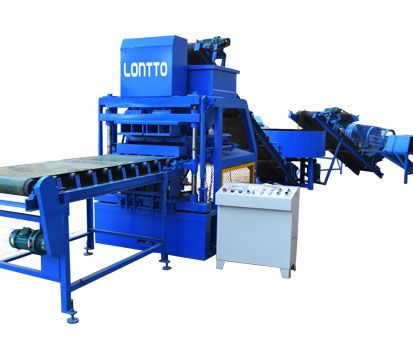 LT4-10 Clay Brick Making Machine