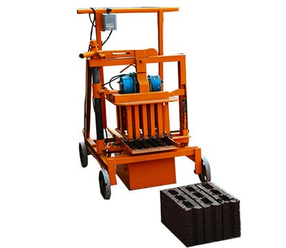 QMJ2-40 Cinder Block machine