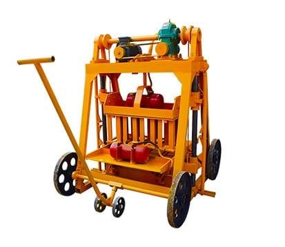 QMJ4-45-Brick Moulding Machine