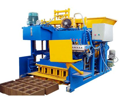 QMY10-25 cinder block machine