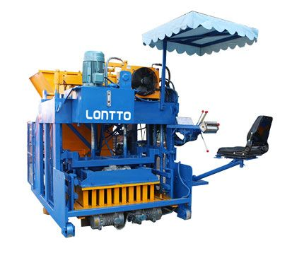 QMY12A cement brick making machine
