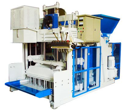 QMY18A cinder block machine