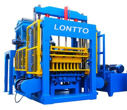 QT12-15 cement brick making machine