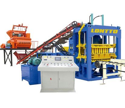 QT4-15 cement brick making machine