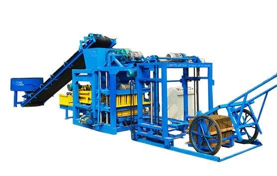 QT4-25C-Fly-Ash-Bricks-Machine