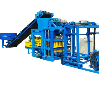 QT4-25C Fly Ash Bricks Machine