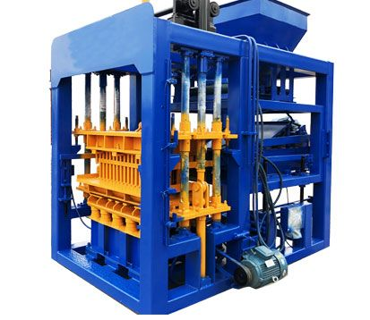 QT5-15 cement brick making machine