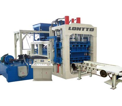 QT8-Fly Ash Bricks Machine