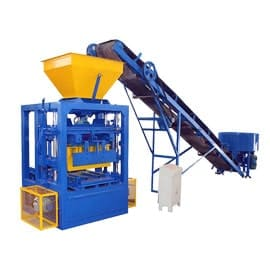 Semi-Automatic-Concrete-Block-Making-Machine