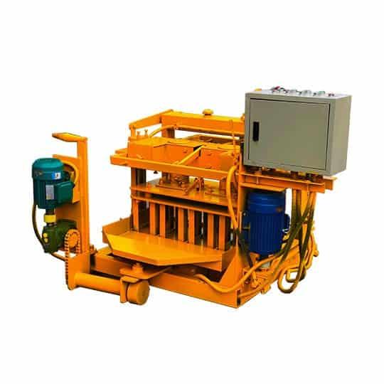 Semi-Automatic-Egg-Laying-Block-Machine