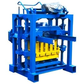 Small-Cinder-Block-Machine
