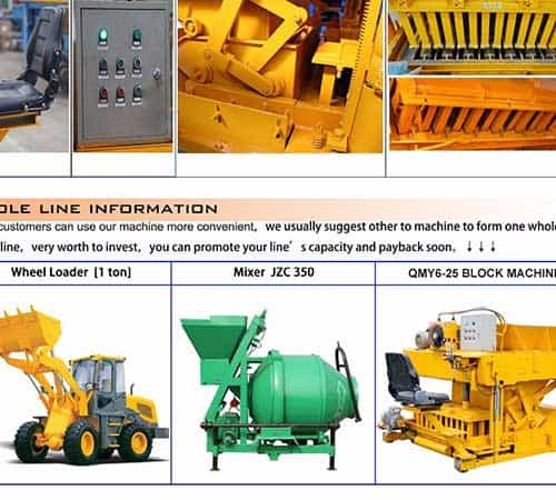QMY6-25 MOBILE BLOCK MACHINE