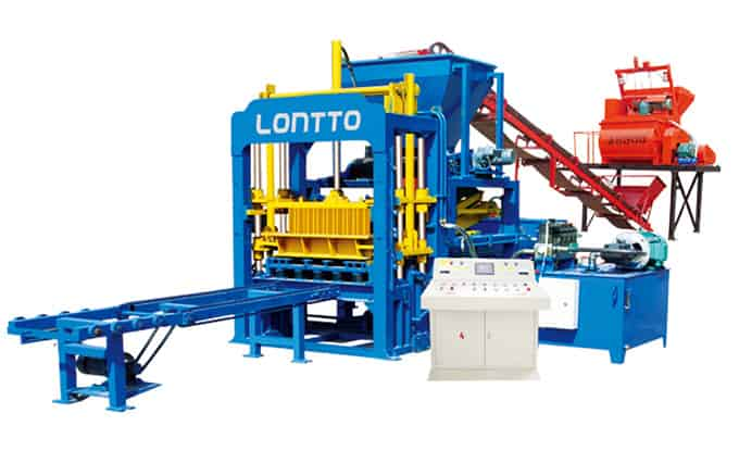 QT4-15 Automatic Block Making Machine - LONTTO