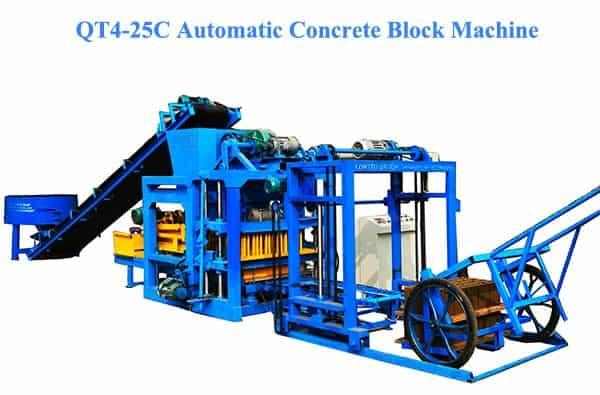 QT4-25C automatic brick machine for sale