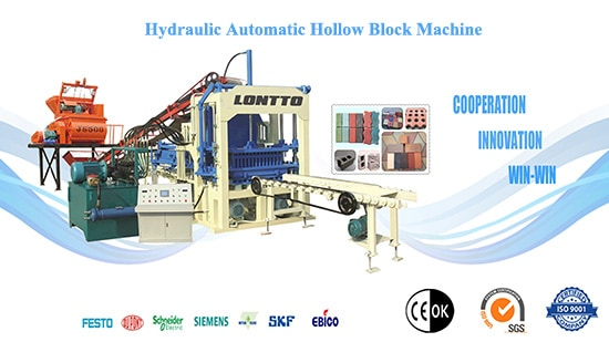 Automatic Hollow Block Machine