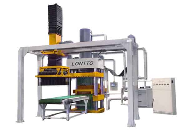Autoclaved fly ash bricks machine