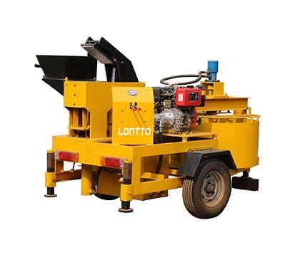 M7MI Mobile Brick Press Machine