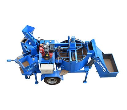 M7MI Mobile Twin Brick Press Machine for Sale