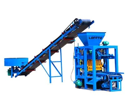 LMT4-26-interlocking Concrete-Brick-Machine