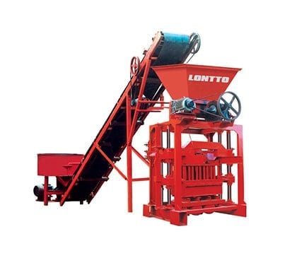 LMT4-35-Interlocking concrete-Brick- Machine
