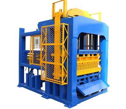 QT10-15-Interlocking concrete-Brick-Machine