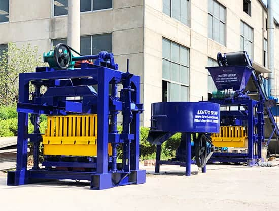 LMT4-40-BRICK-MACHINE-with-Concrete-Mixer