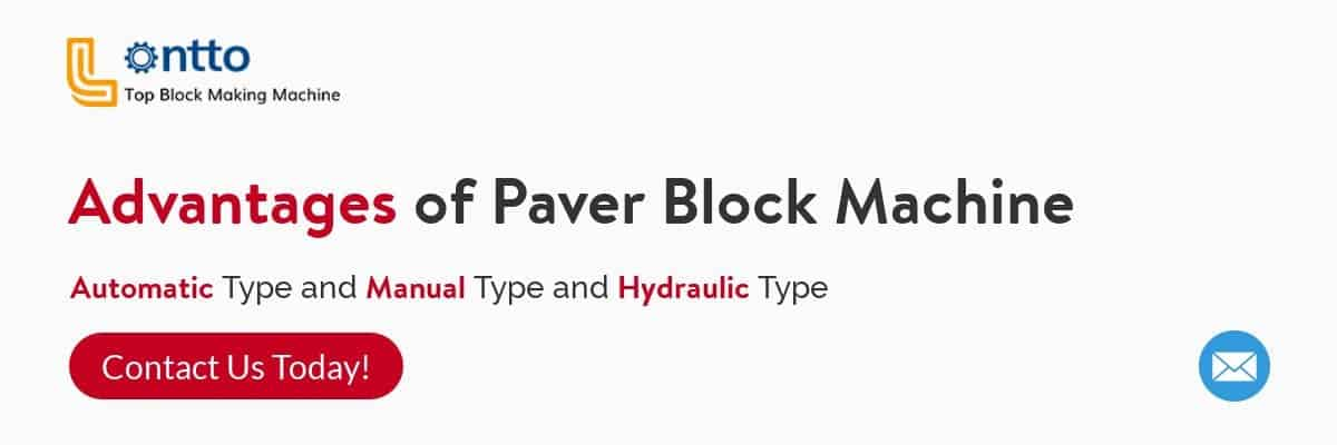 advantages of paver block machine