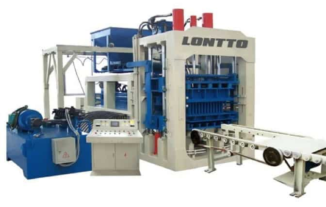 automatic-Fly Ash-brick-machine-QT10-15