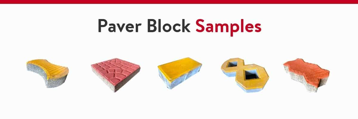 paver block samples