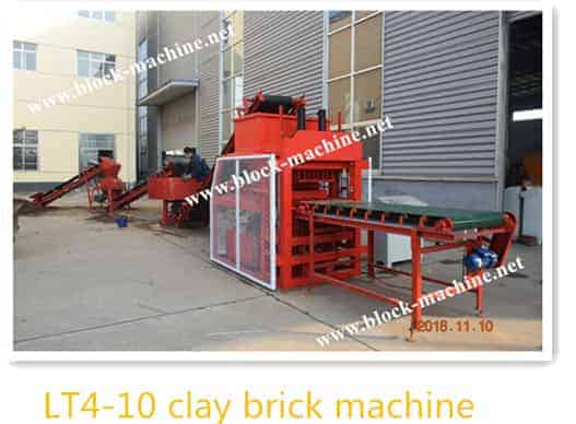 LT4-10 clay brick machine