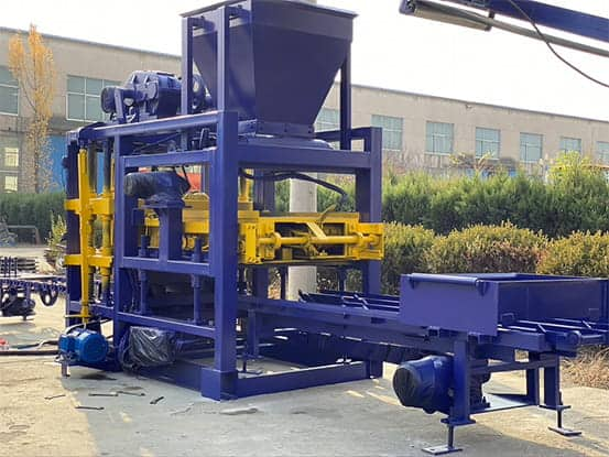 QT4-25C AUTOMATIC CONCRETE Brick-Machine for Sale