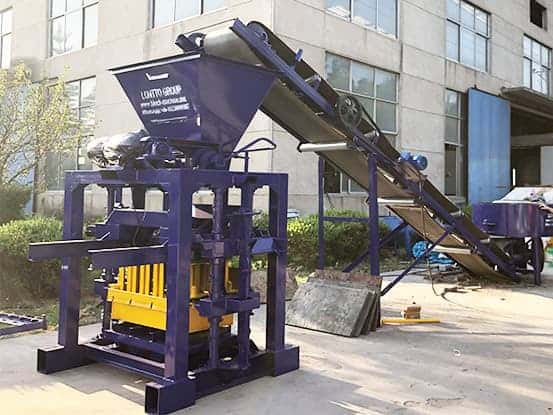 QT4-35 concrete block machine for sale