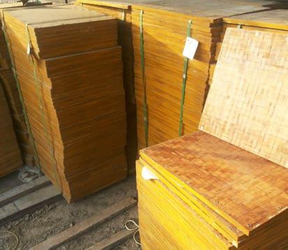 bamboo pallet for blocks
