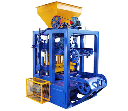 LMT4-26 brick moulding machine in Botswana