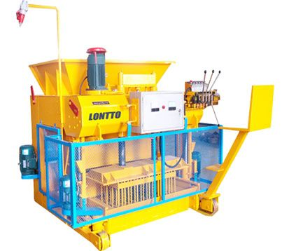 QMY6-25 Concrete brick moulding machine in Botswana