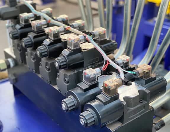 QT5-15 CALYCA hydraulic system