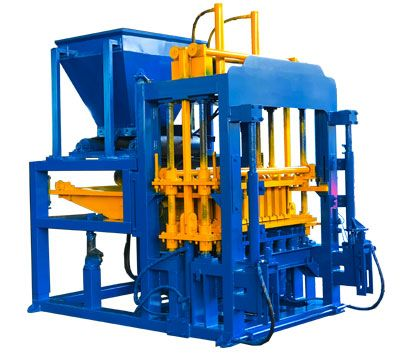 QT6-15 Brick Moulding Machine in Botswana