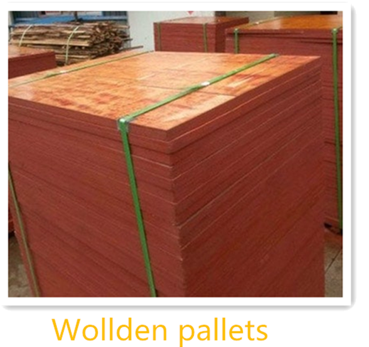 Wollden pallets