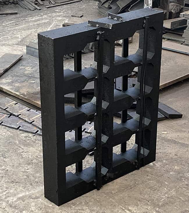 concrete block mould