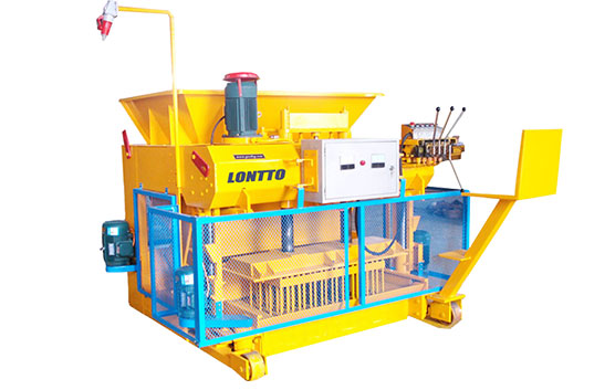 concrete brick moulding machine in botswana
