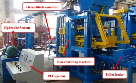qt-15 brick machine