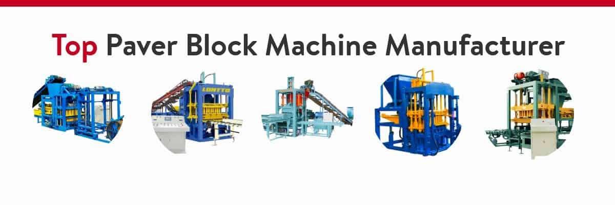 paver brick moulding machine
