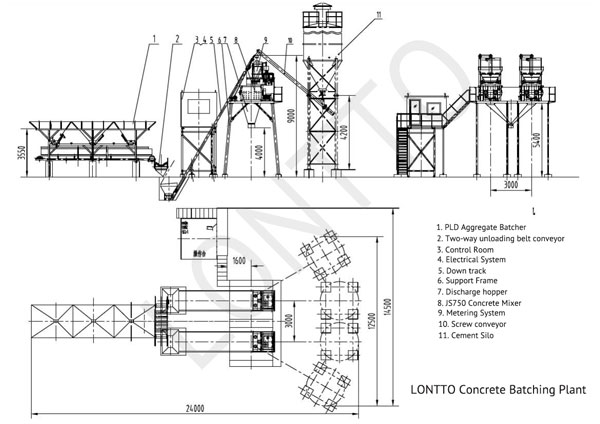 Concrete-Batching-plant-installation-drawing