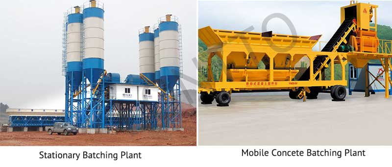 Stationary-batching-plant-vs-Mobile-Concrete-Batching-plant