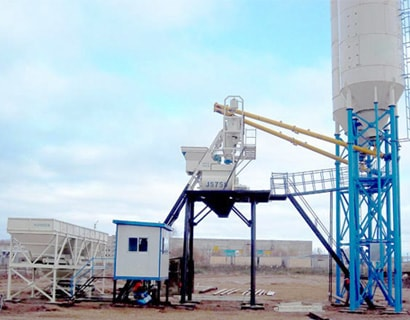 concrete batching plant hzs35