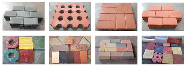 concrete-paving-block-making machine